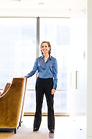 Carrie Schwab-Pomerantz pictures: Executive portrait photography of Carrie Schwab Pomerantz president of Charles Schwab Foundation, by San Francisco corporate photographer Eric Millette