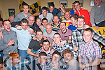 3-OH PARTY: Darragh Long, Caherslee, Tralee (centre) had a great time celebrating his 30th birthday in the Austin Stacks GAA clubhouse, Connolly Pk, Tralee last Saturday night with a big crowd of friends.