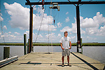 Mark Dodd, State Sea Turtle Program Coordinator of the Georgia Department of Natural Resources on Ossabaw Island , Georgia June 18, 2012.