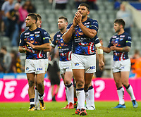 Leeds Rhinos' Ryan Hall applauds the fans after the match <br /> <br /> Photographer Alex Dodd/CameraSport<br /> <br /> Betfred Super League Round 15 - Magic Weekend - Castleford Tigers v Leeds Rhinos - Saturday 19th May 2018 - St James' Park - Newcastle<br /> <br /> World Copyright &copy; 2018 CameraSport. All rights reserved. 43 Linden Ave. Countesthorpe. Leicester. England. LE8 5PG - Tel: +44 (0) 116 277 4147 - admin@camerasport.com - www.camerasport.com