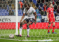 Bolton Wanderers' Clayton Donaldson retrieves the ball from the back of the net after scoring his side's first goal<br /> <br /> Photographer Andrew Kearns/CameraSport<br /> <br /> Emirates FA Cup Third Round - Bolton Wanderers v Walsall - Saturday 5th January 2019 - University of Bolton Stadium - Bolton<br />  <br /> World Copyright &copy; 2019 CameraSport. All rights reserved. 43 Linden Ave. Countesthorpe. Leicester. England. LE8 5PG - Tel: +44 (0) 116 277 4147 - admin@camerasport.com - www.camerasport.com