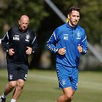 10.08.18 Rangers training: Nikola Katic