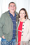Sean and Nicola Browne, Killarney, pictured at the comedy festival in the INEC, Killarney on Friday night..