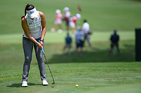 Patty Tavatanakit (a)(THA) watches her putt on 17 during round 1 of the U.S. Women's Open Championship, Shoal Creek Country Club, at Birmingham, Alabama, USA. 5/31/2018.<br /> Picture: Golffile | Ken Murray<br /> <br /> All photo usage must carry mandatory copyright credit (&copy; Golffile | Ken Murray)