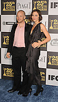 LOS ANGELES, CA. - March 05: Actors Peter Sarsgaard and Maggie Gyllenhaal arrive at the 25th Film Independent Spirit Awards held at Nokia Theatre L.A. Live on March 5, 2010 in Los Angeles, California.