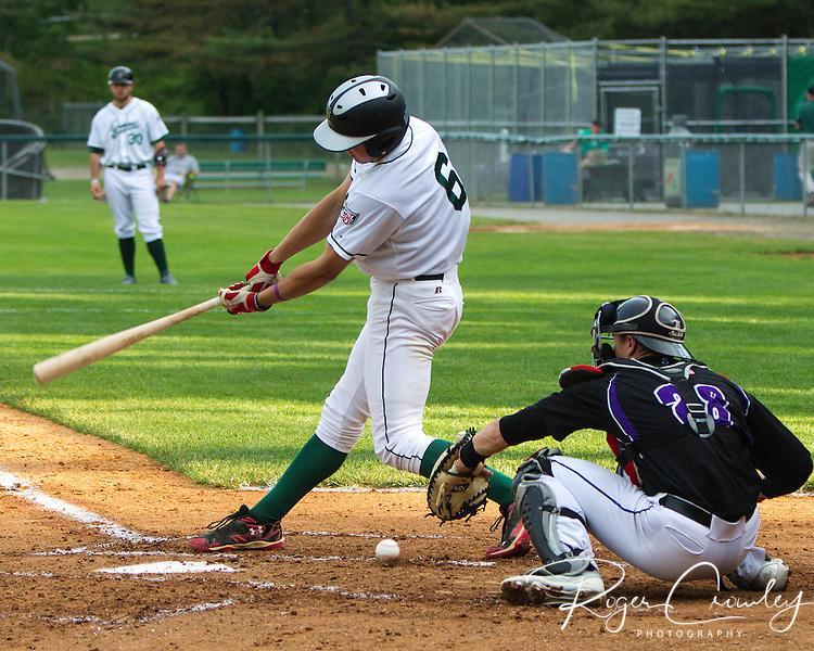 Vermont Mountaineers defeat Keene Swampbats 5-2 at Montpelier Recreation Field.