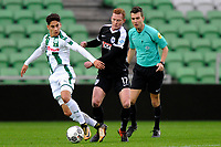 GRONINGEN - Voetbal, FC Groningen - Preussen Munster  oefenwedstrijd , Noordlease stadion, seizoen 2017-2018, 08-11-2017,   FC Groningen speler Ludevit Reis