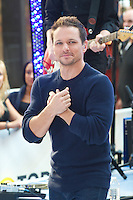 NEW YORK, NY - AUGUST 17: 98 Degrees perform on NBC's Today Show Toyota Concert Series at Rockefeller Center in New York City. August 17, 2012. © mpi44/MediaPunch Inc. /NortePhoto.com<br />