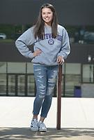 NWA Democrat-Gazette/ANDY SHUPE<br /> Fayetteville High School senior Sarah Jong will attend Northwestern University in Evanston, Ill.