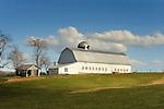 Farmscape, barn, and pasture , Augusta County, VA.