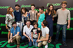 "Actors of the series ""Temporada Baja"" during the presentation os Series Flooxer, by Flooxer. Jun 2,2016. (ALTERPHOTOS/Rodrigo Jimenez)"
