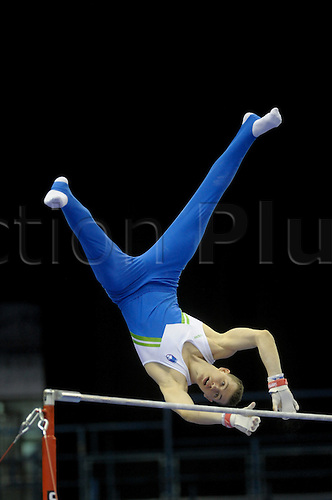 20.4.10 European Gymnastics Championships.Birmingham England.Junior Podium Training...