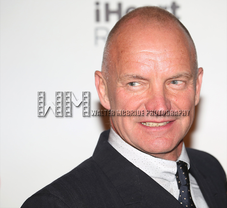 Sting attends the Broadway Opening Night After Party for 'The Last Ship' at Pier 60 on October 26, 2014 in New York City.