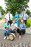 Launching the Fleadh Cheoil na Mumhan in  Listowel Council office with civil defence, gardai, council staff and fleadh cheoil committee on Thursday were l-r  Andrea Stack, Sean Kissane and Rachel Taylor. Back l-r  Superintendent Dan Keane, Area Manager Joan McCarthy, KCC and Sgt Sandra Kell