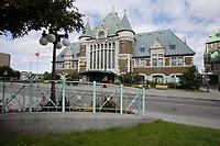Quebec (QC) CANADA - Sept 5 2009 - - Gare du Palais train station
