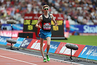 Tom Bosworth of Great Britain competes in the menís one mile walk during the Muller Anniversary Games at The London Stadium on 9th July 2017