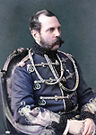 Tsar Alexander II (1818-1881), Emperor of Russia, was assassinated by a bomb planted by the People's Will, a radical political group.
