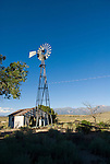 Aermotor windmill at the abandoned Black Jack Inn, Preston, Nevada