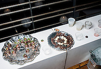 Marijuana chocolates and marijuana chocolate covered strawberrys at a cannabis after party in Denver, Colorado, Saturday, July 19, 2014. <br /> <br /> Photo by Matt Nager
