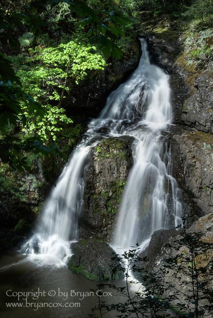 Sitting Lady Falls, Wittys Lagoon Regional Park, Vancouver Island, BC