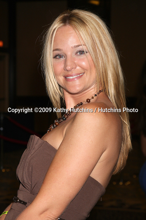 Sharon Case at The Young & the Restless Fan Club Dinner  at the Sheraton Universal Hotel in  Los Angeles, CA on August 28, 2009.©2009 Kathy Hutchins / Hutchins Photo.