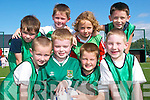 Siging up for the Listowel Celtic FC academy last Saturday were fron l-r Killian Buckley, Tadhg McEvoy, Adam O'Carroll and Conor Hogan. Back l-r Ted Moloney, Cian Clancy, Joshua Barry and Darragh Keane.   Copyright Kerry's Eye 2008