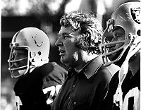 Oakland Raiders coach John Madden...(1977 photo/Ron Riesterer)