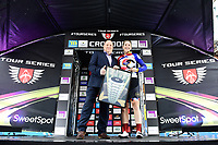 Picture by Alex Broadway/SWpix.com - 18/05/2017 - Cycling - Tour Series Round 5, Croydon - Matrix Fitness Grand Prix - Storey Racing's Elizabeth Jane Harris wins.