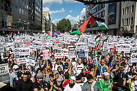 "09.08.2014 - ""National Demonstration for Gaza - #GazA9"""