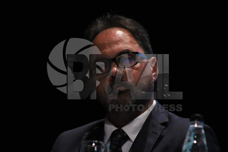 SÃO PAULO, SP, 05.11.2019 - POLITICA-SP - Adalberto Bogsan, CEO da ASTA Linhas Aereas, participa do Fórum Brasileiro de Transporte Aéreo, no WTC Events, em São Paulo, nesta terça-feira, 5. (Foto Charles Sholl/Brazil Photo Press)