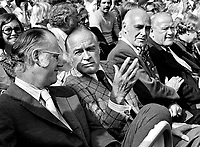 In the stands at the 1973 World Series in Oakland..L-R<br />