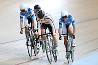Corbin Strong of Southland leads out front in the Junior U19 Men Omnium 3, Elimination Race,  at the Age Group Track National Championships, Avantidrome, Home of Cycling, Cambridge, New Zealand, Sunday, March 19, 2017. Mandatory Credit: © Dianne Manson/CyclingNZ  **NO ARCHIVING**