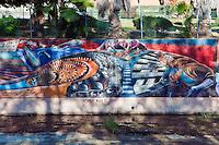"""World War II""  ""California Aqueduct"" Great Wall Mural, Los Angeles, CA"