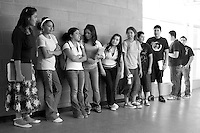 High school students in Phoenix, Arizona.