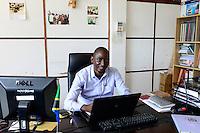 TANZANIA Tanga, Sisal Board in Katani House / TANSANIA Tanga, Sisal Board im Katani House, Yunus A. Mssika