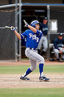 Anthony Seratelli - Kansas City Royals - 2009 spring training.Photo by:  Bill Mitchell/Four Seam Images