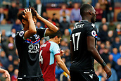 10th September 2017, Turf Moor, Burnley, England; EPL Premier League football, Burnley versus Crystal Palace; Lee Chung-yong of Crystal Palace puts his hands on his head after missing an goal scoring opportunity