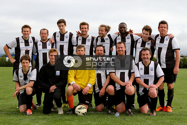 Tahuna 3rd XI v FC Nelson, 2014 Glen Stephens Trophy Final, 13 September 2014,  Jubilee Park, Richmond, New Zealand<br /> Photo: Marc Palmano/shuttersport.co.nz