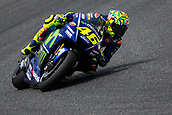 June 9th 2017, Circuit de Catalunya, Barcelona, Spain; Catalunya MotoGP; Friday Practice Session; Valentino Rossi of Movistar Yamaha MotoGP rides during free practice