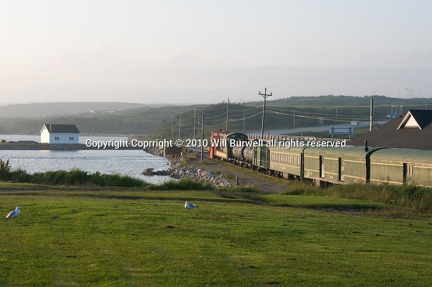 Train from Newfoundland Railway