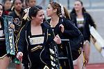 Palos Verdes, CA 11/10/11 - Peninsula's Song and Cheer girls in action during the Peninsula-Palos Verdes varsity football game.