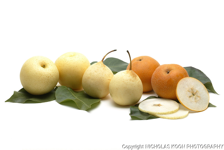 Asian Pear still life.