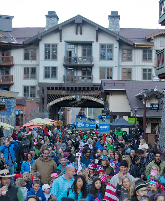 A photo from the Olympic Homecoming  Celebration at Squaw Valley on Friday night, March 21, 2014.