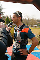 Arrivée, le vainqueurs, Thierry Breuil