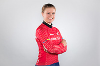 Picture by Alex Whitehead/SWpix.com - 12/10/2017 - British Cycling - Great Britain Cycling Team Senior Academy Portraits - HSBC UK National Cycling Centre, Manchester, England - Team Breeze's Jenny Holl.