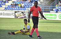 MONTERIA - COLOMBIA, 08-09-2018:  Gustavo Murilllo, árbitro, durante el encuentro entre Jaguares FC y Alianza Petrolera por la fecha 9 de la Liga Águila II 2018 jugado en el estadio Municipal de Montería. / Gustavo Murilllo, referee, during the match between Jaguares FC and Alianza Petrolera for the date 9 of the Liga Aguila II 2018 at the Municipal de Monteria Stadium in Monteria city. Photo: VizzorImage / Andres Felipe Lopez / Cont