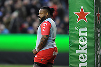 Mathieu Bastareaud of RC Toulon looks on during the European Rugby Champions Cup match between Bath Rugby and RC Toulon - 23/01/2016 - The Recreation Ground, Bath Mandatory Credit: Rob Munro/Stewart Communications