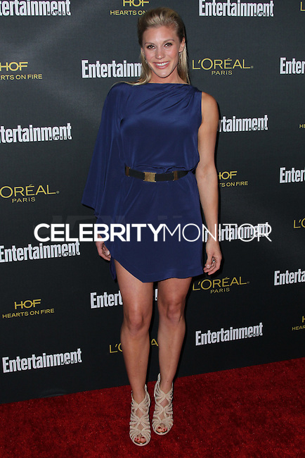 WEST HOLLYWOOD, CA, USA - AUGUST 23: Katee Sackhoff arrives at the 2014 Entertainment Weekly Pre-Emmy Party held at the Fig & Olive on August 23, 2014 in West Hollywood, California, United States. (Photo by Xavier Collin/Celebrity Monitor)