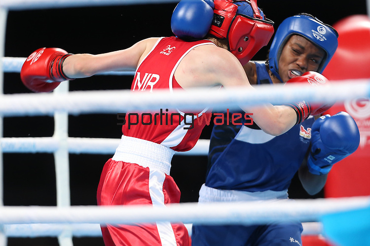 Glasgow 2014 Commonwealth Games<br /> <br /> Women's Fly (48-51kg) Final<br /> Nicola Adams (Eng) v Michaela Walsh (NIR)<br /> <br /> 02.08.14<br /> ©Steve Pope-SPORTINGWALES