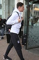 Julian Draxler (Deutschland, Germany) - 04.10.2017: Deutschland Teamankunft, Stormont Hotel Belfast